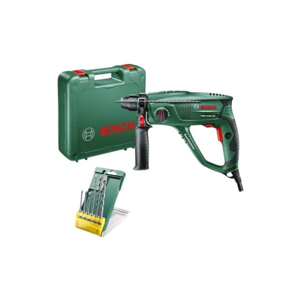 Bosch PBH 2100 RE + 6-delige SDS-Plus borenset