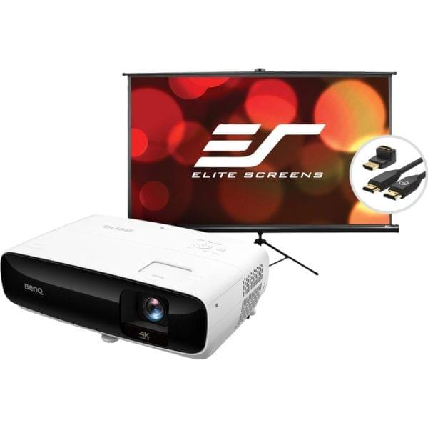 BenQ TK810 + Projectiescherm + HDMI kabel